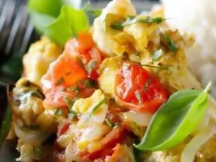 Φωτογραφία για Στραπατσάδα με φρέσκα αυγά και ώριμες ντομάτες