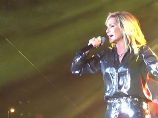 Φωτογραφία για Η εμφάνιση της Άννας Βίσση στη συναυλία της ήταν με μια λέξη «εκθαμβωτική»