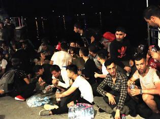 Φωτογραφία για Συλλήψεις λαθρομεταναστών στον ΑΣΤΑΚΟ -ΦΩΤΟΓΡΑΦΙΕΣ ΧΡΗΣΤΟΣ ΜΠΟΝΗΣ