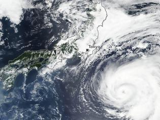 Φωτογραφία για Συναγερμός στην Ιαπωνία για τον τυφώνα Shanshan