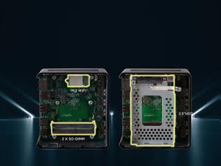 Φωτογραφία για Νέα mini PCs, Liva Z2 και Liva Z2V από την ECS,