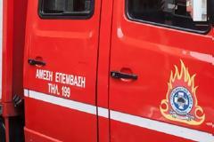 Οι πυροσβέστες έσβηναν τη φωτιά και οι Ρομά τους έκλεβαν
