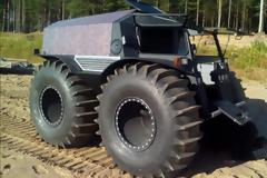 Ρωσικό φορτηγό - τέρας που πάει παντού κοστίζει μόνο 50.000 δολάρια