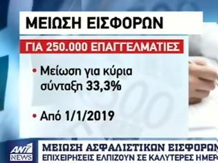 Φωτογραφία για «Ανάσα» στην αγορά από την μείωση των ασφαλιστικών εισφορών (ΒΙΝΤΕΟ)