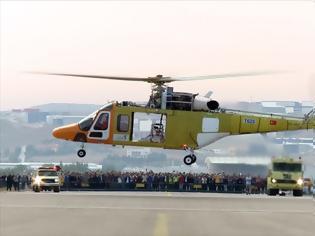 Φωτογραφία για Ελικόπτερο τουρκικής κατασκευής έκανε με επιτυχία την πρώτη του πτήση!