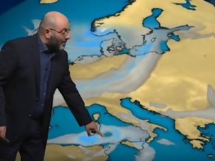 Φωτογραφία για Καιρός - Αρναούτογλου: Έρχεται μεσογειακός κυκλώνας και θα «χτυπήσει» αυτές τις περιοχές [video]