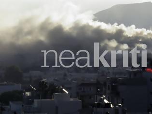Φωτογραφία για Μεγάλη φωτιά στο Πανεπιστήμιο Κρήτης