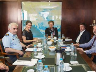 Φωτογραφία για Συνάντηση Φυσικής και Πολιτικής Ηγεσίας με τον δήμαρχο Αθηναίων