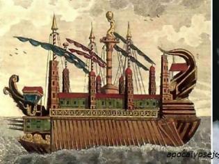 Φωτογραφία για Συρακουσία – Το μεγαλειώδες πλοίο του Αρχιμήδη