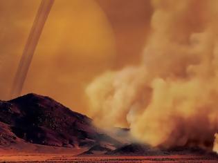 Φωτογραφία για Γιγάντιες αμμοθύελλες στον Τιτάνα του Κρόνου