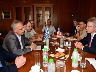 Φωτογραφία για ΑΝΥΕΘΑ : Συνάντηση κορυφής με τον Πρέσβη των ΗΠΑ Τζέφρι Πάϊατ - ΕΙΚΟΝΕΣ
