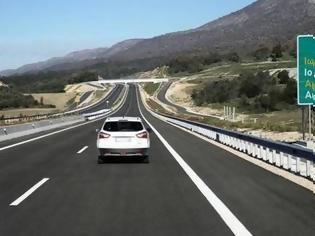 Φωτογραφία για Ιόνια Οδός: 7 εκατ. αυτοκίνητα πέρασαν σε ένα χρόνο