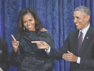 Φωτογραφία για Barack και Michelle Obama: Κλείσαν 26 χρόνια γάμου