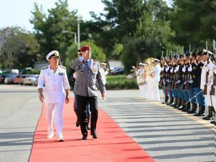 Φωτογραφία για Επίσημη Επίσκεψη Αρχηγού Γενικού Επιτελείου Ενόπλων Δυνάμεων Γερμανίας στην Ελλάδα