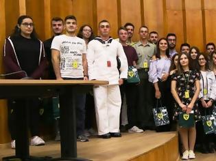 Φωτογραφία για ΓΕΣ: Τελετή Βράβευσης Τέκνων του Στρατιωτικού και Πολιτικού Προσωπικού του Στρατού Ξηράς τα Οποία Εισήχθησαν στην Τριτοβάθμια Εκπαίδευση