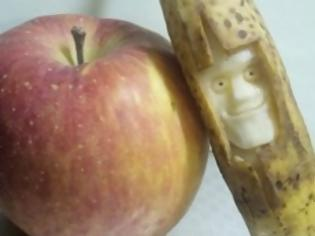 Φωτογραφία για Τρομακτικά γλυπτά από μπανάνα [photos]