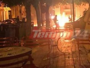 Φωτογραφία για Ανάληψη ευθύνης για την επίθεση στο Αστυνομικό Μέγαρο Πάτρας