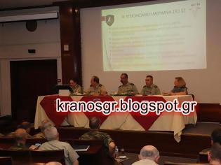 Φωτογραφία για Με επιτυχία  ημερίδα της 1ης Στρατιάς για την υγειονομική μέριμνα στο Στρατό Ξηράς