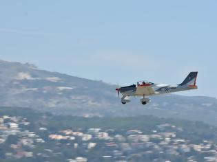 Φωτογραφία για ΓΕΑ: Άφιξη Νέου Εκπαιδευτικού Αεροσκάφους (P-2002JF) Σταδίου Επιλογής της ΠΑ (ΦΩΤΟ)