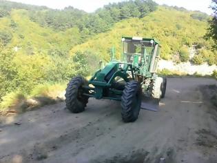 Φωτογραφία για Το Μηχανικό (ΜΧ) ανοίγει δασικούς δρόμους στην ορεινή Ξάνθη