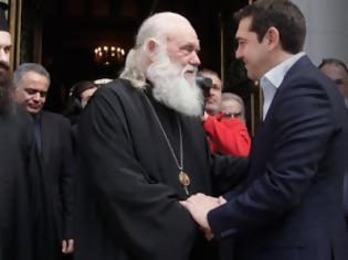 Φωτογραφία για Τι συμφώνησαν Τσίπρας - Ιερώνυμος για την αναθεώρηση του Συντάγματος