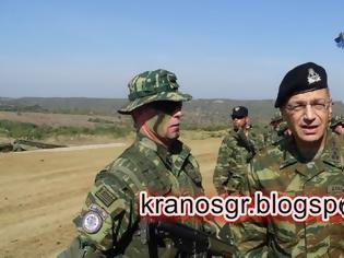 Φωτογραφία για ΤΩΡΑ - Φωτιά και Ατσάλι στο Νέστο παρουσία του Αρχηγού ΓΕΣ