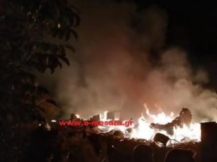 Φωτογραφία για Κρήτη: Δεν έμεινε τίποτε όρθιο από την έκρηξη στο ρακοκάζανο