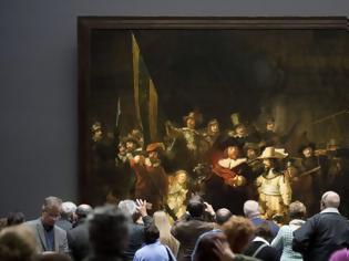 Φωτογραφία για Δημόσιο... «λίφτινγκ» στον εμβληματικό πίνακα «Νυχτερινή Περίπολος» του Ρέμπραντ