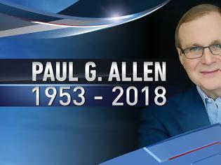 Φωτογραφία για Ο συν-ιδρυτής της Microsoft, Paul Allen πέθανε στα 65 του