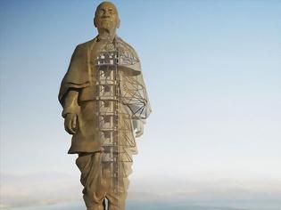 Φωτογραφία για «Αποκαλυπτήρια» για το ψηλότερο άγαλμα του κόσμου