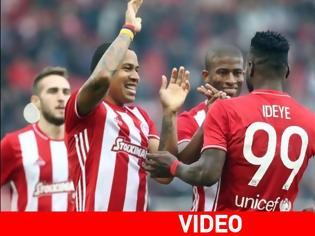 Φωτογραφία για Έριξε... ντόρτια ο Ολυμπιακός, 4-0 τον Λεβαδειακό