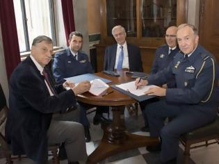 Φωτογραφία για Συνεργασία ΓΕΑ και Ακαδημίας Αθηνών για το σύστημα ΙΡΙΔΑ