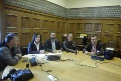 Δ.Ε.Κ.Α: Συνάντηση με Π. Κοζομπόλη, υπεύθυνη Κ.Ο. του ΣΥΡΙΖΑ για τα Σώματα Ασφαλείας