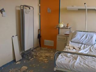 Φωτογραφία για Απίστευτο: Κατέρρευσε ταβάνι στο Νοσοκομείο Νίκαιας και τραυμάτισε μητέρα ασθενούς!