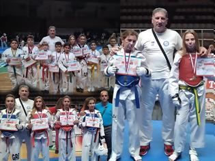 Φωτογραφία για Εντυπωσίασαν οι μικροί του ΚΕΝΤΑΥΡΟΥ ΑΣΤΑΚΟΥ στο διασυλλογικό πρωτάθλημα TAEKWONDO στην Πάτρα | ΦΩΤΟ