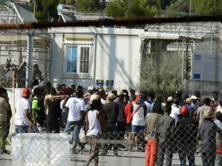 Φωτογραφία για Ληστεία και μαχαιρώματα για ένα κινητό μεταξύ αλλοδαπών στη Μόρια