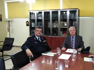 Φωτογραφία για Τον Δήμαρχο Δυτικής Αχαΐας επισκέφθηκαν, ο νέος Γενικός Περιφερειακός Αστυνομικός Διευθυντής Δυτικής Ελλάδας και ο νέος Διευθυντής της Διεύθυνσης Αστυνομίας Αχαΐας