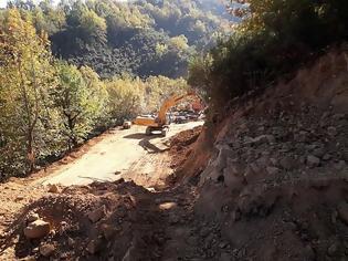 Φωτογραφία για Εργοτάξιο η Κοιλάδα Αχελώου, προχωρά η κατασκευή των οδικών αξόνων (ΦΩΤΟ)