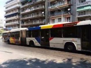 Φωτογραφία για Άγνωστοι επιτέθηκαν σε λεωφορείο του ΟΑΣΘ