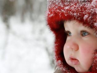 Φωτογραφία για Πώς θα ντύσουμε σωστά το παιδί μας όταν έχει κρύο;