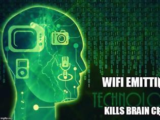 Φωτογραφία για Like Alcohol, Exposure to WiFi Kills Brain Cells