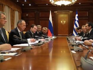 Φωτογραφία για Μόσχα: Σε εξέλιξη η συνάντηση Τσίπρα - Μεντβέντεφ