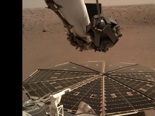 Φωτογραφία για Για πρώτη φορά στη διαστημική ιστορία το InSight κατέγραψε τον άνεμο στον Αρη (Βίντεο)