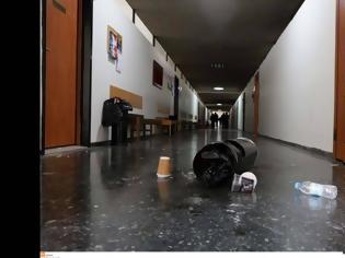 Φωτογραφία για «Κόντρα» αστυνομίας - ΑΠΘ αναφορικά με τις καταστροφές στη Θεολογική Σχολή