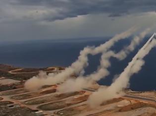 Φωτογραφία για ΓΕΣ: Βολές Πυροβολικού Μάχης στο Πεδίο Βολής Κρήτης