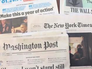 Φωτογραφία για Μόλις 7 στους 100 Αμερικανούς διαβάζουν εφημερίδα για να ενημερωθούν