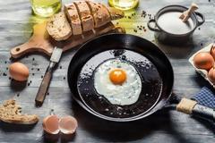 Πόσο τέλειο μπορεί να είναι ένα τηγανητό αβγό;