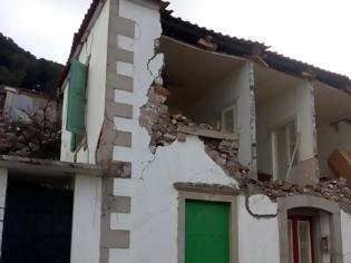 Φωτογραφία για Βρίσα Λέσβου: Χωριό-«φάντασμα» μετά τον σεισμό