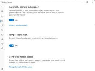 Φωτογραφία για Tamper Protection για το Windows Defender των Windows 10