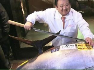 Φωτογραφία για Τόνος πουλήθηκε... 2,7 εκατ. ευρώ σε ιδιοκτήτη εστιατορίου σούσι